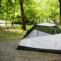 Deep Creek Campground's tent-only section offers some spectacular sites right next to the water.- Deep Creek Campground