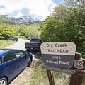 The Dry Creek Trailhead.- Horsetail Falls via Dry Creek Trail
