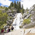 Not a bad place to enjoy lunch.- Horsetail Falls via Dry Creek Trail