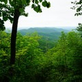 Overlook on the fire road.- Little Devils Stairs