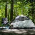 Smokemont Campground offers easy access to many trails in the Smokies, and it is near Cherokee.- Smokemont Campground
