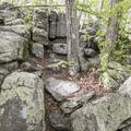 Intricate rock scrambles.- Chatfield Trail