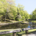 Two ponds on the property.- Gillette Castle State Park