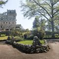 The majestic entrance path.- Gillette Castle State Park