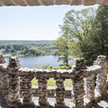 View from the porch.- Gillette Castle State Park