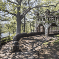 Path leading to Grand Central Station.- Gillette Castle State Park
