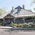 The visitor center.- Gillette Castle State Park