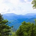 View from the Newfound Gap Overlook.- Charlie's Bunion