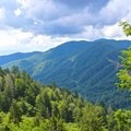 Newfound Gap Overlook.- Charlie's Bunion
