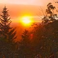 Sunset on the Appalachian Trail.- Charlie's Bunion