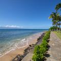 Ka'anapali Beachwalk at the Aston Ka'anapali Shores resort.- Ka'anapali Beachwalk