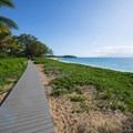 Ka'anapali Beachwalk just north of the Royal Lahaina Resort.- Ka'anapali Beachwalk