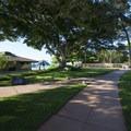 Ka'anapali Beachwalk at the Royal Lahaina Resort.- Ka'anapali Beachwalk