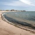 The beach along Long Island Sound.- Lighthouse Point Park