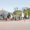A playground in the park.- Lighthouse Point Park