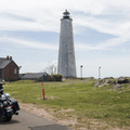 Access roads run through the park.- Lighthouse Point Park