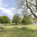 Picnic areas and grills.- Lighthouse Point Park