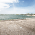 The park's boat launch area.- Lighthouse Point Park