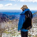 The hike to a beautiful view is easy!- Point Imperial Trail