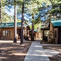 The North Rim Cabins.- Bright Angel Point
