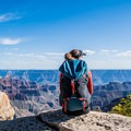 Sit anywhere along the trail and enjoy the view.- Bright Angel Point