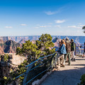 The Bright Angel Point Overlook. - Bright Angel Point