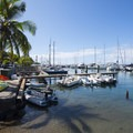 View of Lahaina Harbor.- Lahaina National Historic District