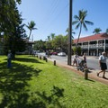 Campbell Park along Front Street.- Lahaina National Historic District