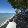 Front Street promenade, Lahaina National Historic District.- Lahaina National Historic District