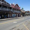 View of Lahaina's Front Street.- Lahaina National Historic District