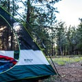 Perfect opportunity to sleep under the stars.- Ten-X Campground