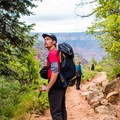 The trail features 360-degree views!- North Kaibab Trail to Roaring Springs
