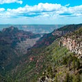 The section between North Kaibab and Point Imperial has one really spectacular canyon overlook.- Ken Patrick Trail