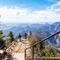 The north end of the trail is at Point Imperial, one of the best views in Grand Canyon National Park.- Ken Patrick Trail