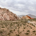 Colorful rock formations dot the area.- Whitney Pockets