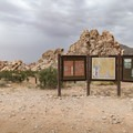 Signage at Whitney Pockets.- Gold Butte National Monument