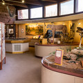 Visitor center exhibits.- Red Rock State Park