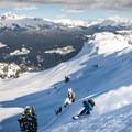 Snowboarding on Mount Brew.- Mount Brew