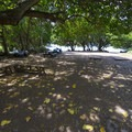 Day use picnic area at the bay.- Honolua Bay