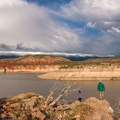 To the east of the canyon, find the Bighorn Mountains.- Barry's Island Trail
