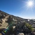 View along the short Pā Ka'oao Trail.- Haleakalā Visitor Center + Pā Ka'oao Trail