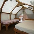 Tentalow interior at Camp Olowalu.- Camp Olowalu
