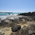 Rugged basalt coastline along the Hoapili Trail.- Hoapili Trail / King's Highway