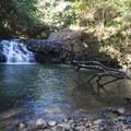 Middle Falls on Ho'olawa Stream.- Twin Falls Hike + Wailele Farm
