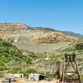 View of some of the historic mining sites.- Jerome State Historic Site