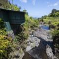 Hanawai Stream below Hanawai Falls.- Upper Hanawai Falls