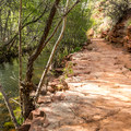 Along the Kisva Trail.- Red Rock Loop Hike