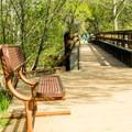 Kingfisher Bridge.- Red Rock Loop Hike