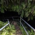 Entrance to Ka'eleku Cave (Hana Lava Tube).- Ka'eleku Cave (Hana Lava Tube)