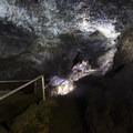 View within Ka'eleku Cave (Hana Lava Tube).- Ka'eleku Cave (Hana Lava Tube)